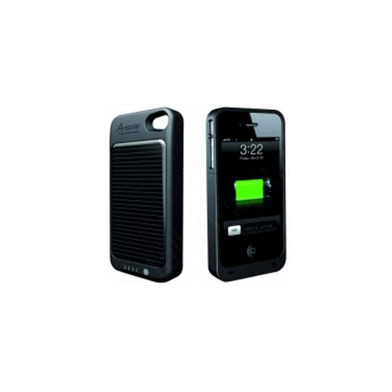 accessoire iphone coque chargeur solaire iphone 4 a solar. Black Bedroom Furniture Sets. Home Design Ideas