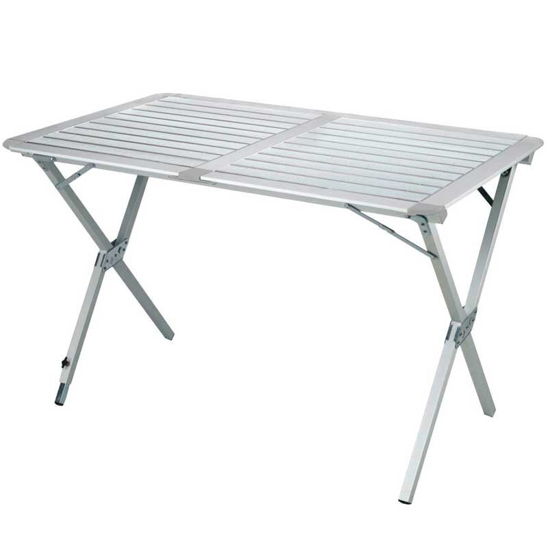 Table pliante 6 personnes en alu Table-Camping-ALUMINIUM-mate-122-cm-HIGHLANDER
