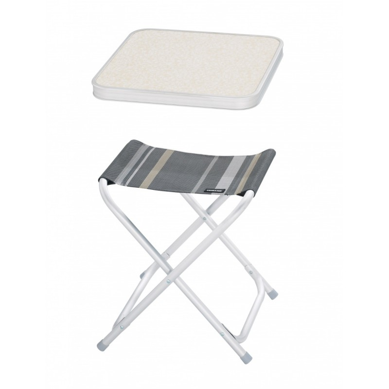 meuble camping tablette pour tabouret camping trigano. Black Bedroom Furniture Sets. Home Design Ideas