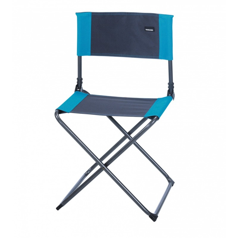 tabouret camping chaise camping pliante gris turquoise trigano. Black Bedroom Furniture Sets. Home Design Ideas